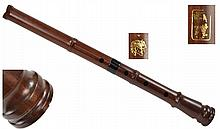 Rosewood SHAKUHACHI Japanese End-Blown Flute