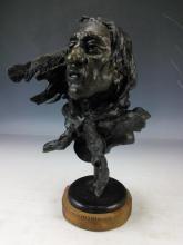 Austin Deuel, Comanche Scout Bronze Bust