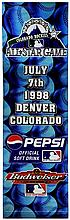 MLB 1998 Colorado Rockies All-Star Game Banner