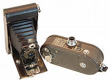 PAIR Antique Kodak #2, Keystone 8mm Camera Lot
