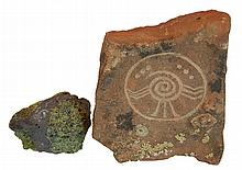Petroglyph Pictogram Lot