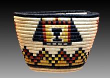 Evangeline Talahaftewa Native American Basket