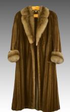 Vintage David Freddrick Furs Full Length Mink Coat