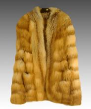 Vintage Hubert Latimer Fox Cape