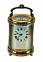 French Carriage Clock - Round Form w/Key