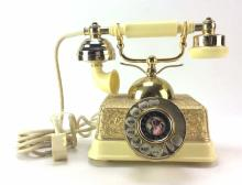 20th C. Brass French Phone