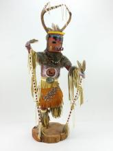 R.M. Delyarito Deer Native American Kachina