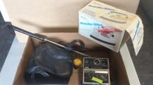 Kodak EK4, Clothes Iron, & Adjustable Shoehorn