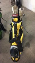 2Pc. Sun Mountain Standing Golf Bags w/ Clubs