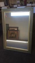 2Pc. Framed Beveled Mirrors