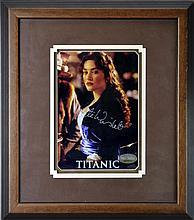 Kate Winslet Signed Titanic Photo