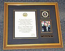 Original Ronald Reagan Inaugural Invitation 1981