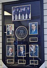 5 Presidential Autographs