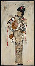 Japanese Female Painting