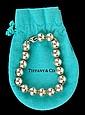 Tiffany Sterling Ball Bracelet