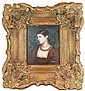 Signed Oil Painting with Heavy Gesso Frame