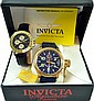 2 Watches Invicta Model 7214 & Helbros Chronograph