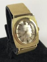 Vtg. 18k Gold Longines Watch & Band