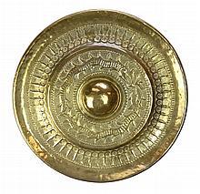 Tibetan Metal Temple Nipple Gong