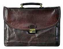 Adpel Fine Italian Leather Briefcase