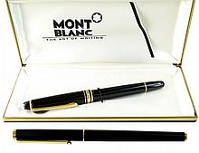 2 Mont Blanc Fountain Pens, (1) 14K Meisterstuck