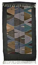 Zapotec Stacked Fishes Rug