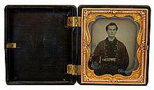 Civil War Era Daguerreotype Portrait of a Man