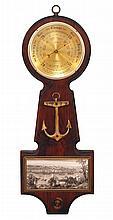Vintage Shortland English Nautical Barometer
