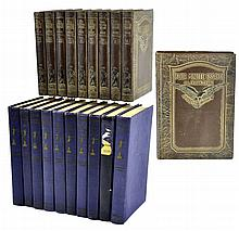 19 Book Volumes O'Henry and Crane's Four Minute Essays