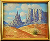 Thomas L. Lewis (1907 - 1978) Monument Valley Painting, Thomas L Lewis, Click for value