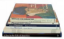 (6) Pcs. Art Book Lot: Van Gogh, Picasso, Matisse