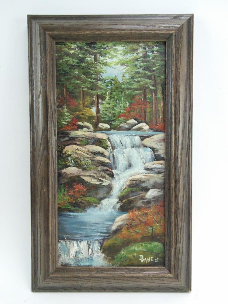 Payne Forest Landscape Oil on Canvas