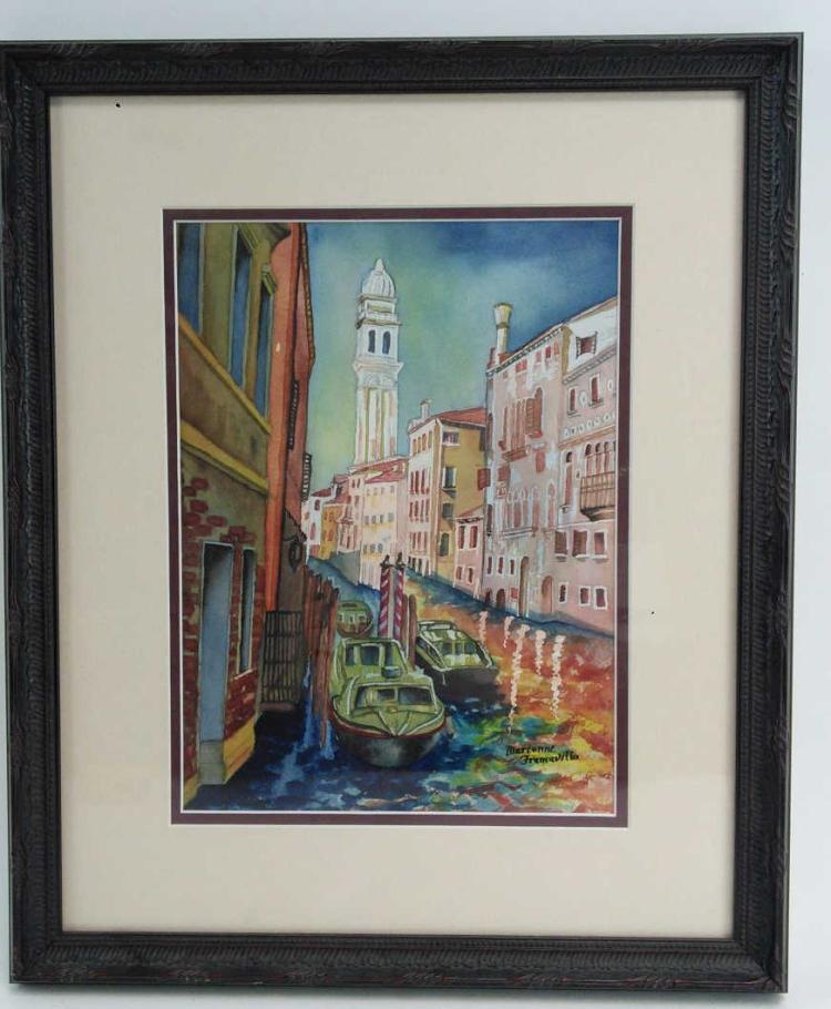 Marianne Framavilla Venice Watercolor