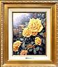 Thomas Kinkade, #87 A Perfect Yellow Rose, Giclee