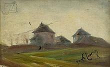 """Joseph Le Tessier (1867-1949) """"Dans I' Isere"""""""