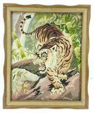 Tiger Neddlepoint