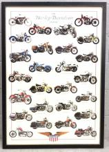 Harley Davidson Legend Poster Print