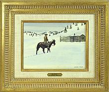 Leonard Reedy (1899-1956) Watercolor Painting #2