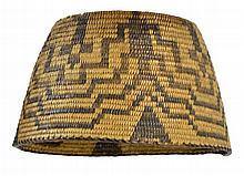 Vintage Native American Basket / Lamp Shade