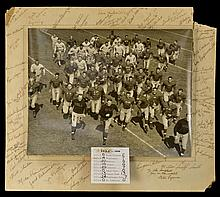 1939 Jackie Robinson UCLA Football Team Photo