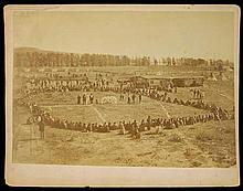 U.S. Army & Indian Peace Treaty Photo