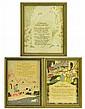 Vintage Framed Motto Prints