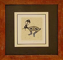 Jackrabbit Ink on Paper by Quackenbush