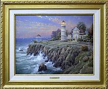 Thomas Kinkade Giclee, Seaside Memories VII