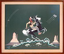 Robert Chee Tempera Painting