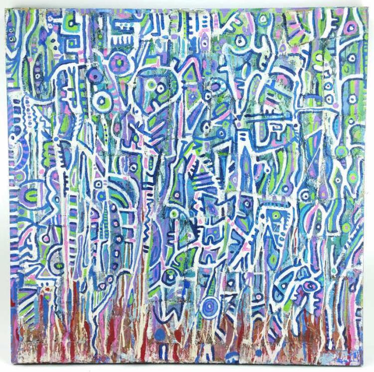 Benjamin Kastelic, Making Magic Acrylic on Canvas
