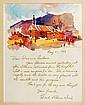 Edward Ward Original Watercolor Painting
