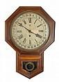 Waterbury Regulator Clock