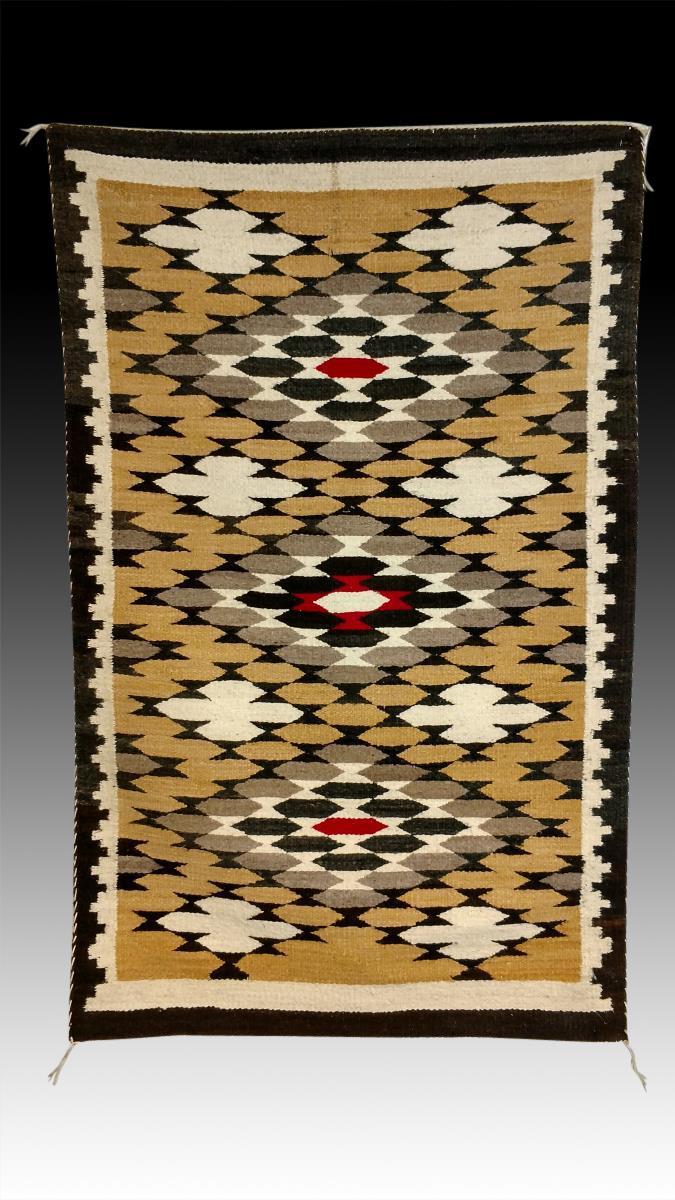 Navajo Hand Woven Rug 20th C