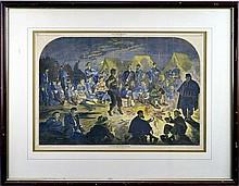 Harpers Weekly Civil War Era Engraving, W. Homer